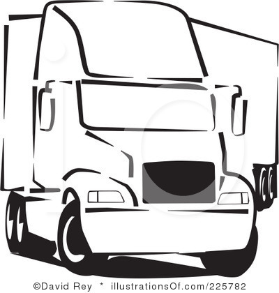 Trailer Front Clipart.