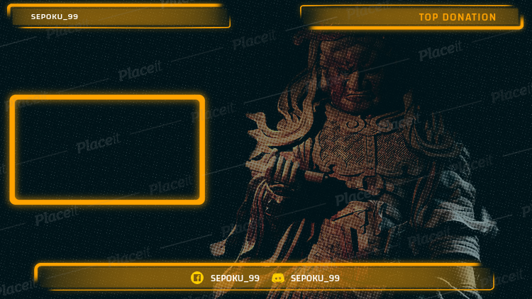 Twitch Overlay Generator with Semi Transparent Features 1242d.
