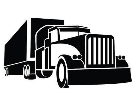 Clipart semi truck » Clipart Portal.