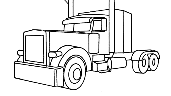 Semi Truck Clipart Free.