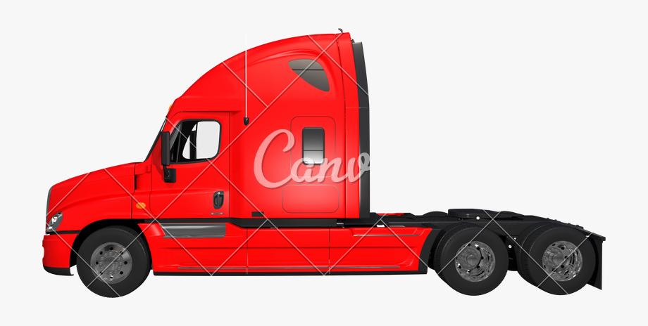 Truck Transparent Semi.
