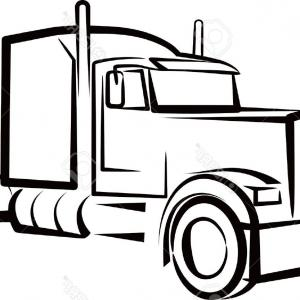 Peterbilt Drawing.