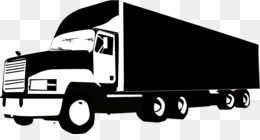 Truck Silhouette PNG.