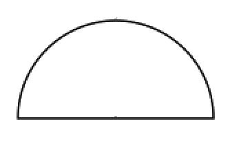 Semicircle Definition.
