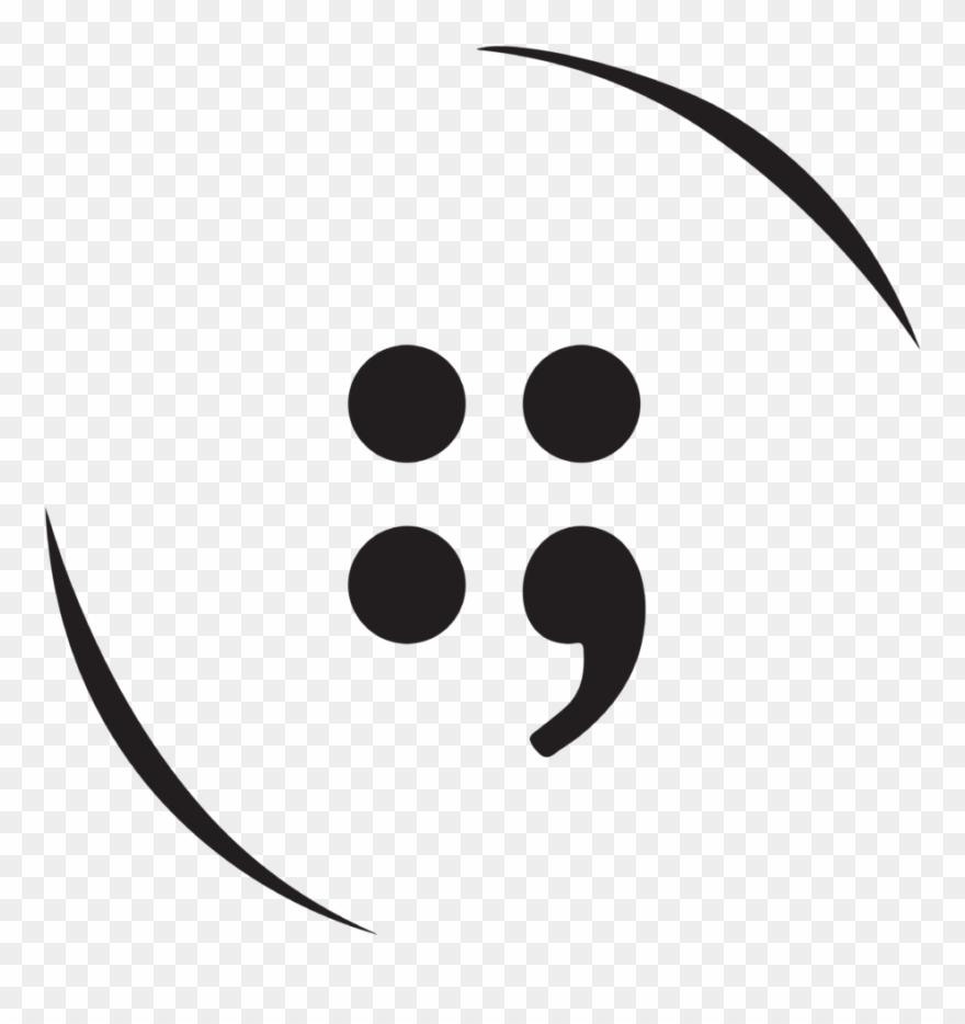 Button Semicolon Logo Clipart (#2826144).