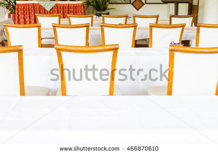 Back Of Chairs In Meeting Room Or Or Seminar Room. Selective Focus.