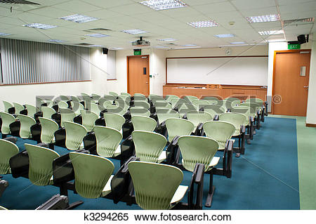 Stock Image of Seminar Room k3294265.