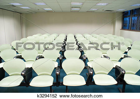 Stock Photo of Seminar Room k3294152.