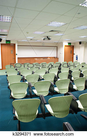 Stock Photography of Seminar Room k3294371.