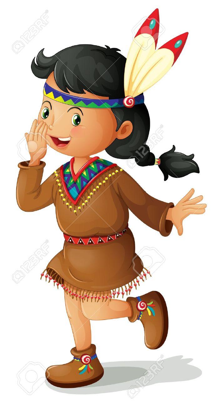 Seminole indian clipart.