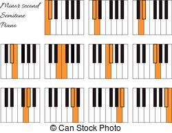 Semitone Clip Art and Stock Illustrations. 195 Semitone EPS.