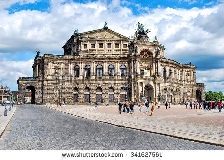 Deutsche Staatsoper Stock Photos, Royalty.