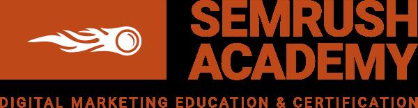 SEMrush Academy.