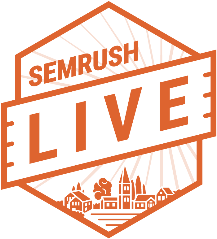 SEMrush first ever Global User Conference, May 15.