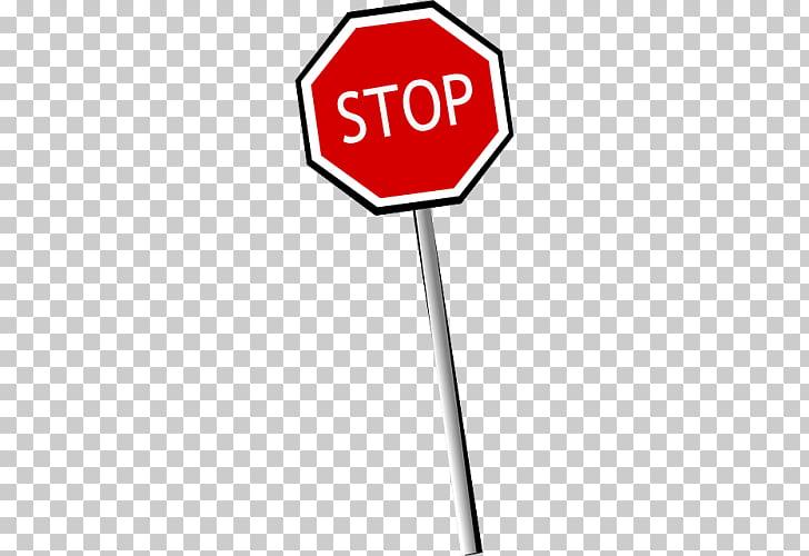 Señal de stop caricatura, PNG Clipart.
