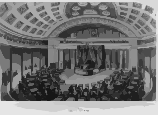 Washington Senate Chamber Clip Art at Clker.com.