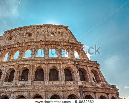 Roman Forum Forum Square Heart Ancient Stock Photo 400842619.