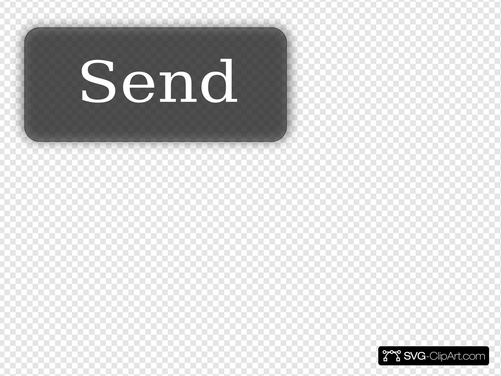 Send Button Clip art, Icon and SVG.