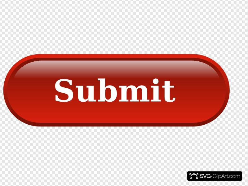 Red Submit Button Clip art, Icon and SVG.
