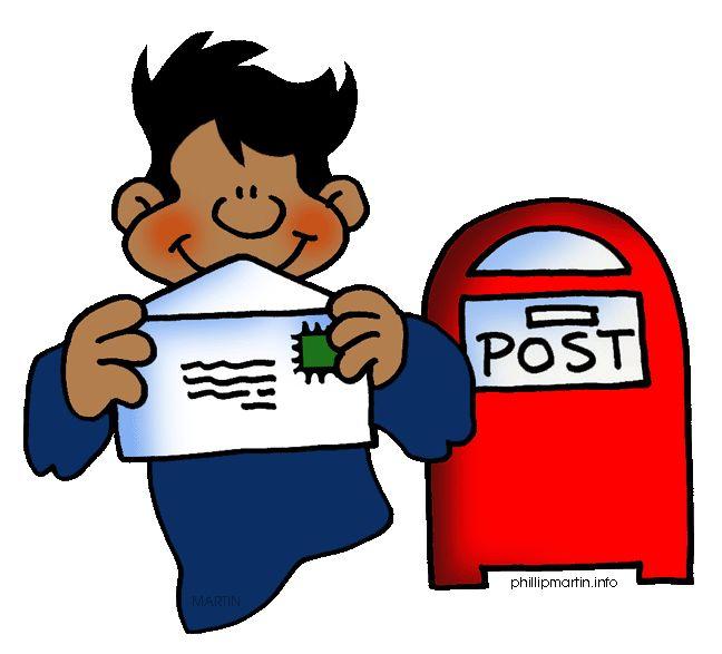 Sending A Letter Clipart.