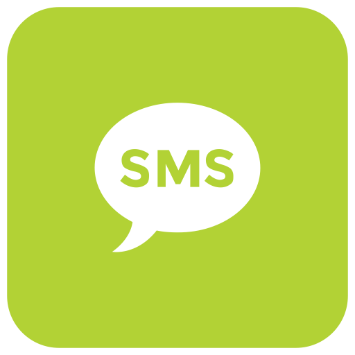 sms icon, send, phone, Message icon.