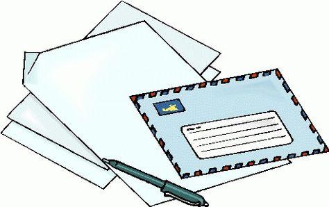 Letter Clipart clip art.