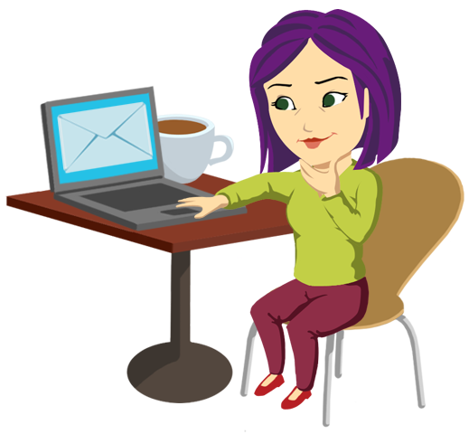 Writing An Email Clipart.