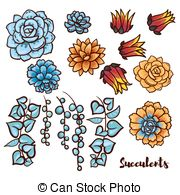 Senecio Clip Art Vector and Illustration. 21 Senecio clipart.