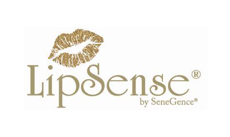 Lipsense by senegence Logos.