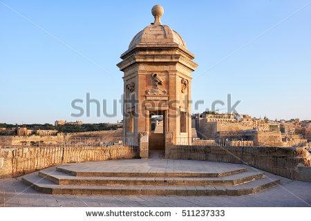 Malta Senglea Stock Photos, Royalty.