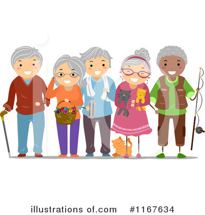 Senior Citizen Clipart.