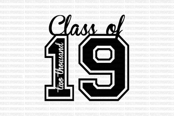 Description Class of 2019 SVG Printable Clipart Graduation.
