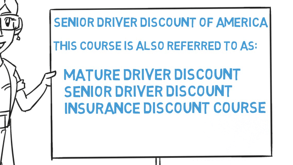 SDDA Senior Driving Discount of America.