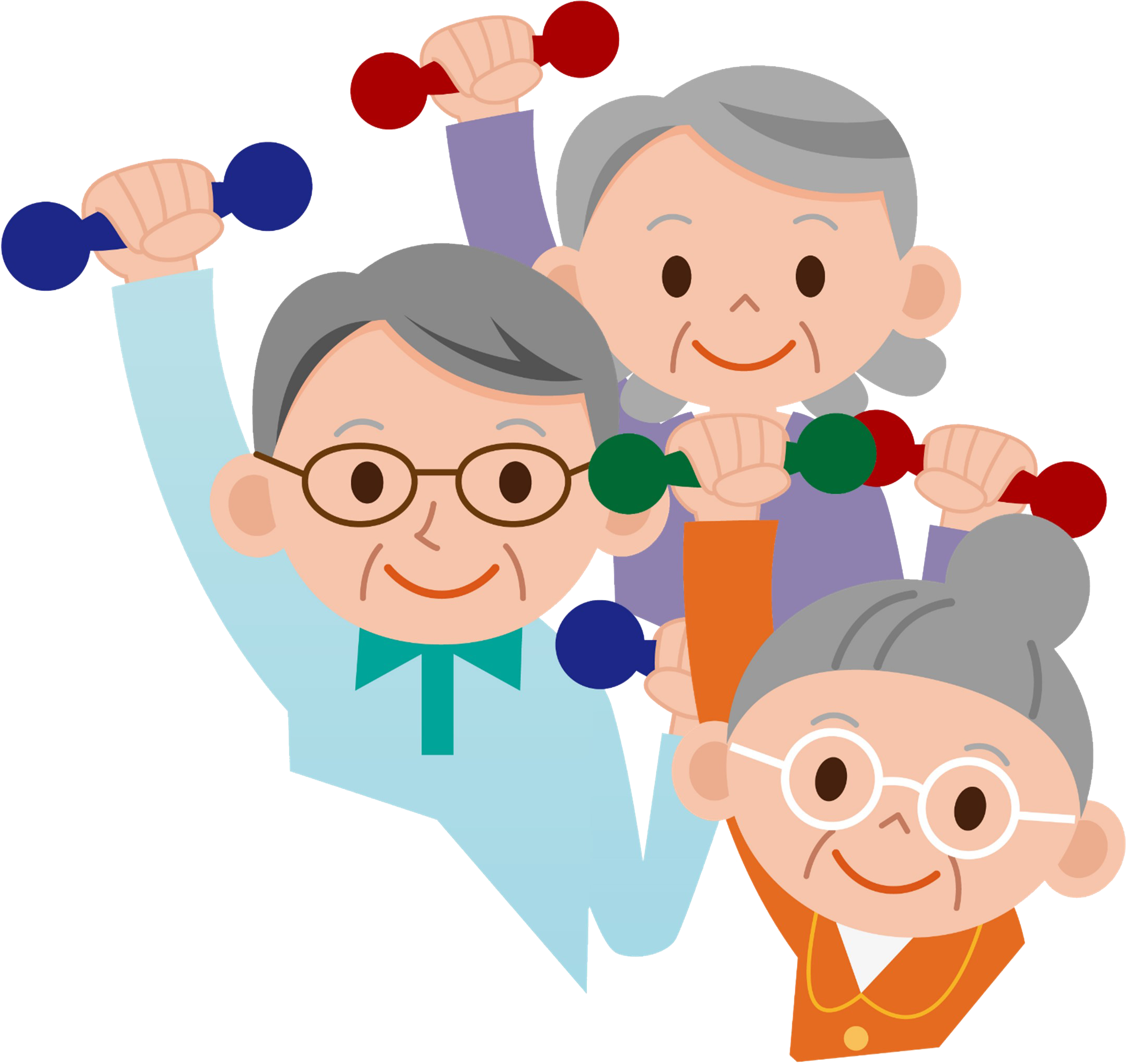 Senior exercise clipart clipart images gallery for free.