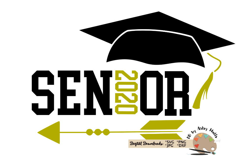 Graduation clipart senior, Graduation senior Transparent.
