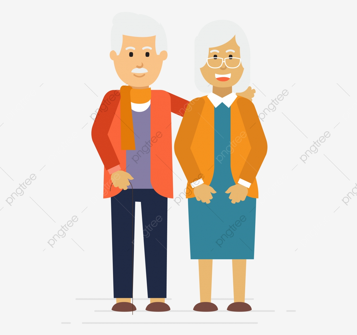 Elderly, Senior, Person, Adult PNG and Vector with.