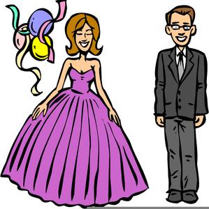 Senior Prom Clipart.