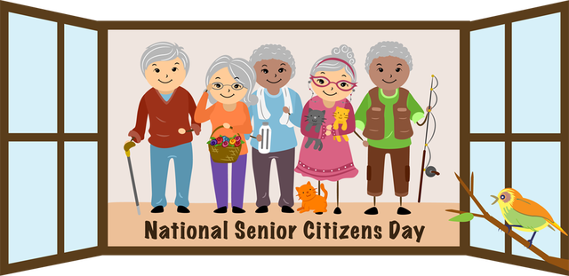 National Seniors Day.