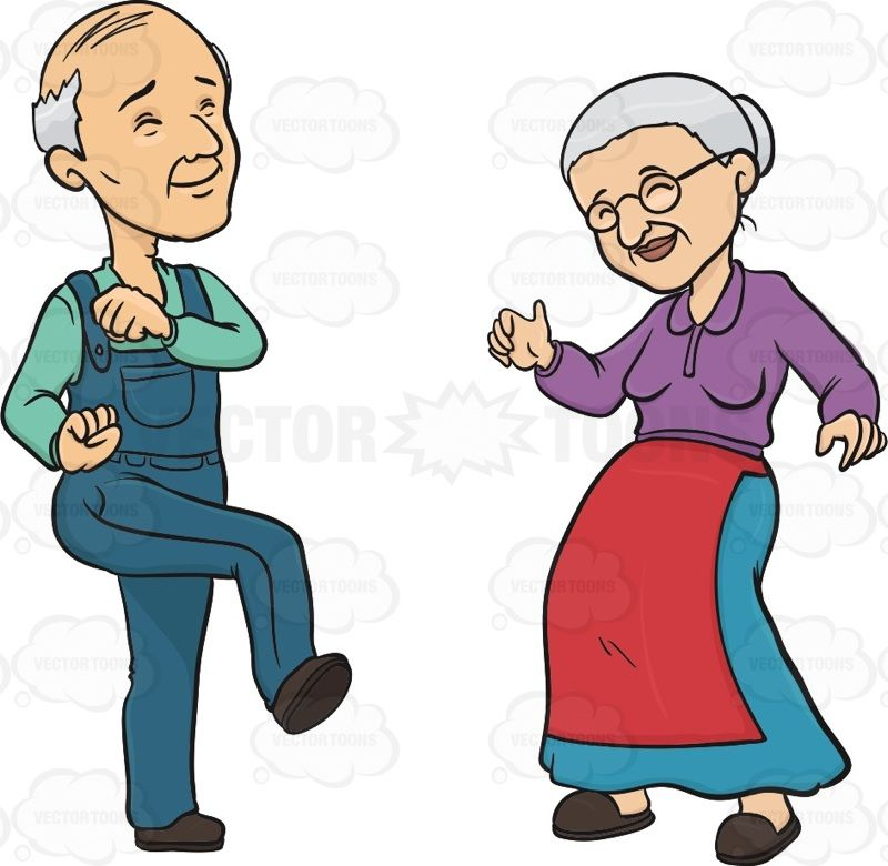 Elderly Couple Smiling While Dancing #couple #dance #dancing.