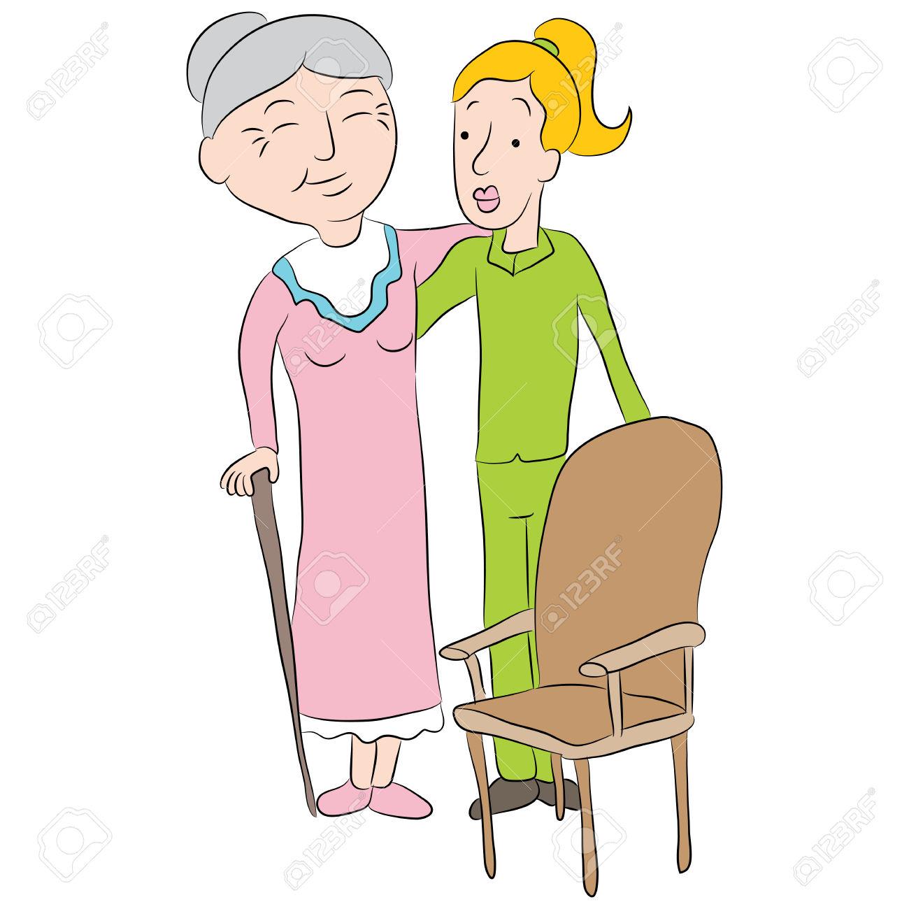 Showing post & media for Elderly clip art cartoons.