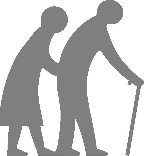 Senior Citizen (blue) Clip Art at Clker.com.