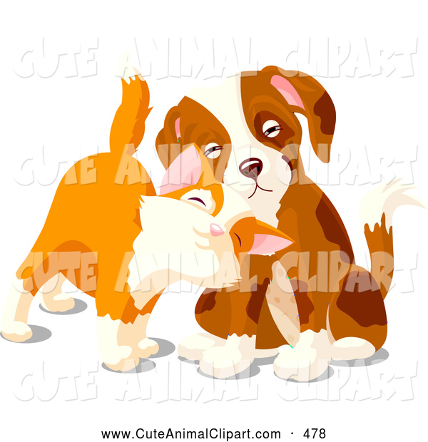 Begging Puppy Face Clipart.