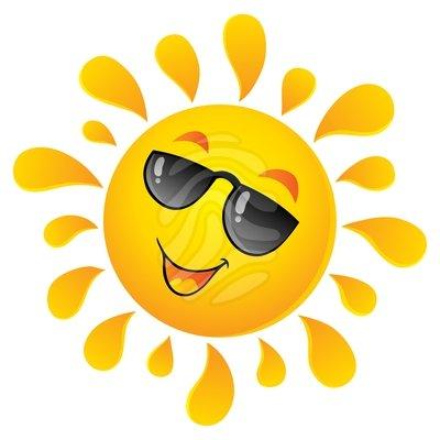 Sunny clip art download.