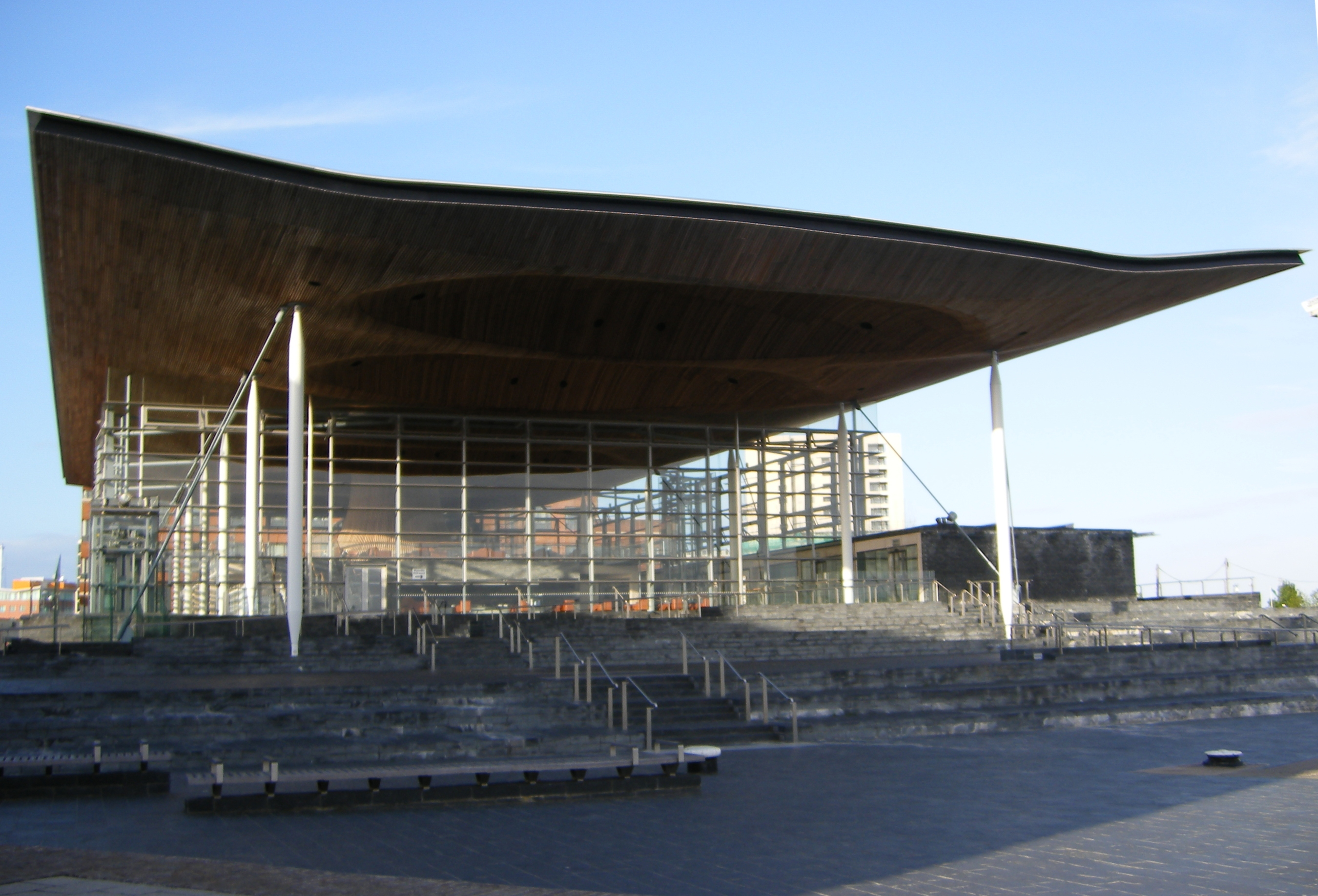 The Senedd.