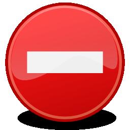 Sens interdit png 4 » PNG Image.