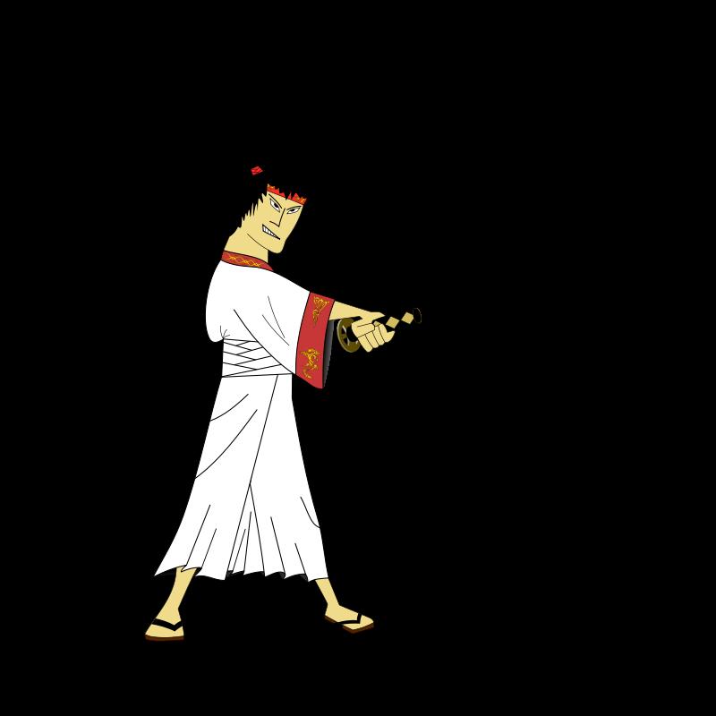 Padepokan: Samurai Sensei Clip Art Download.