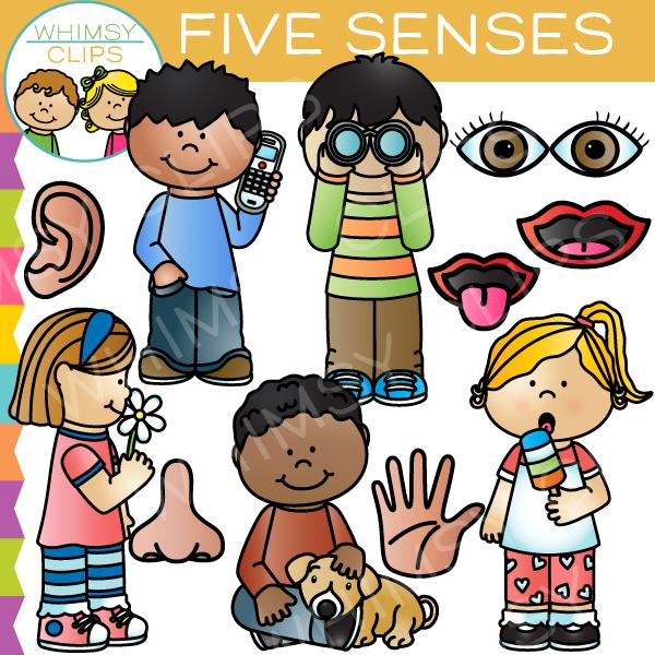 Five Senses Clip Art , Images & Illustrations.