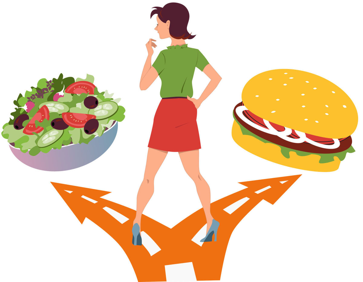 Health: Begin new year with journey to sensible nutrition.
