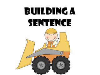 Sentence Building Clipart.
