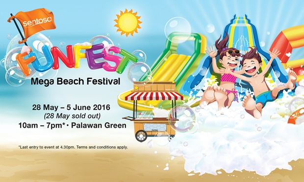 $40 for Admission to Sentosa FunFest with 1.